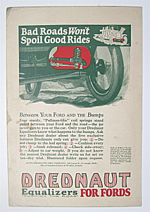 1923 Drednaut Equalizers For Fords with Car Driving  (Image1)