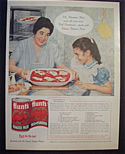 Vintage Ad: 1959 Hunt's Tomato Paste (Image1)