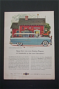1955 Chevrolet Station Wagon with Great Looking Wagon (Image1)