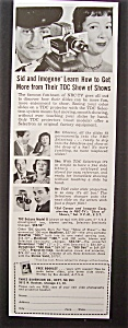 1953 Tdc Projector With Sid Caesar & Imogene Coca