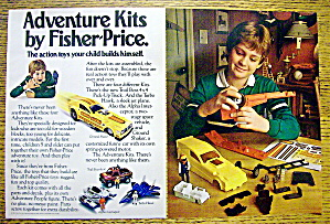 1983 Fisher Price Adventure Kit With Ground Shaker