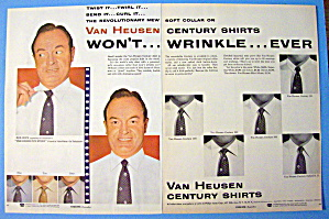 1954 Van Heusen Shirts With Bob Hope
