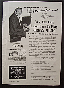 1953 You Can Play Organ Music With Liberace