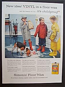 1957  Simoniz  Floor  Wax (Image1)