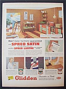 1957  Glidden  Spred  Satin  & Lustre  Paints (Image1)