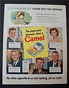 1956 Camel Cigarettes With Brian Keith