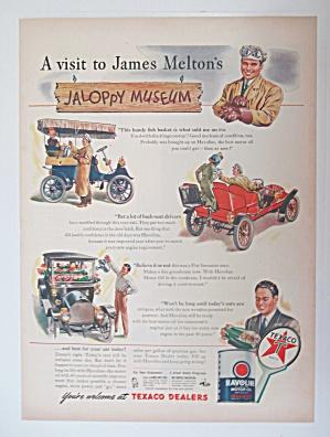 Vintage Ad: 1947 Texaco Sky Chief Gasoline (Image1)