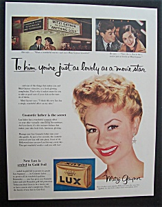 1956 Lux Soap With Mitzi Gaynor