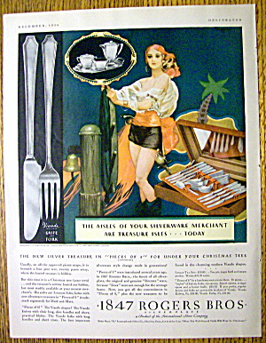 1930 1847 Rogers Bros. Silverplate w/ Woman As Pirate (Image1)