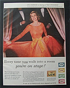 1957 Lux Soap With Cyd Charisse