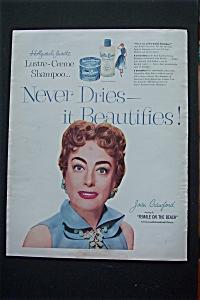 1955 Lustre Creme Shampoo w/ Joan Crawford (Image1)