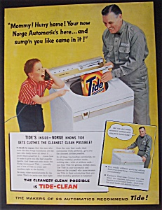1956  Norge  Automatic  &  Tide  Detergent (Image1)