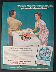 1956  Apex  Wash-A-Matic  &  Tide  Detergent (Image1)
