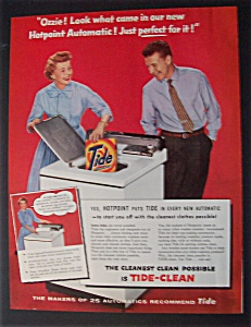 1956 Hotpoint Automatic With Ozzie & Harriet Nelson