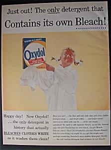 Vintage Ad: 1956  Oxydol  Detergent (Image1)