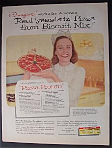 1958  Fleischmann's  Yeast  with  Mrs.  America (Image1)