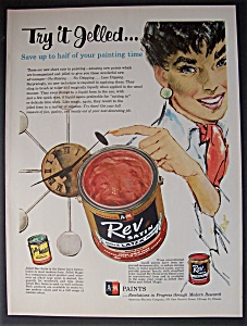 1958  Rev  Satin Jelled  Latex   Paint (Image1)