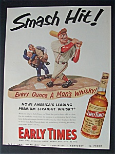 1953 Early Times Whiskey