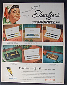 1953 Sheaffer's Pens With Jackie Gleason