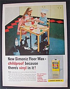 Vintage Ad: 1958 Simoniz Floor Wax (Image1)
