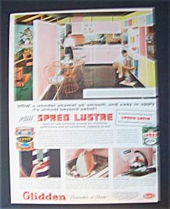 1957  Glidden  Spred  Lustre  Paint (Image1)