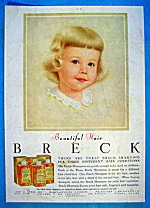 Vintage Ad: 1957 Breck Shampoo (Image1)