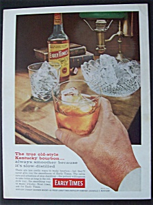 1959 Early Times Whiskey