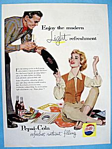 Vintage Ad: 1957 Pepsi Cola (Image1)