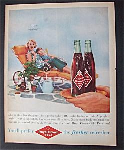 1959 Royal Crown Cola (RC) with Woman & Girl (Image1)