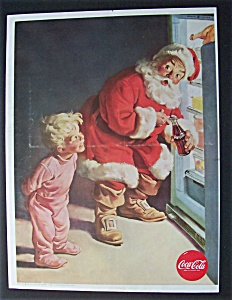 Vintage Ad: 1959 Coca Cola (Coke) with Santa Claus (Image1)