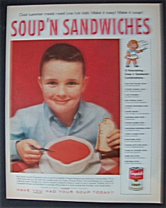 1959 Campbell's Soup 'n Sandwiches