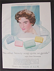 1959 Lux Soap With Jean Simmons