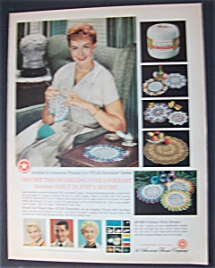 1959 June Lockhart's Sunburst Doily