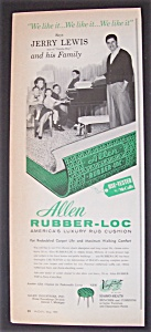 1959 Allen Rubber - Loc With Jerry Lewis