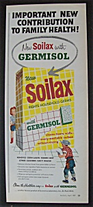 1959 Soilax With Germisol