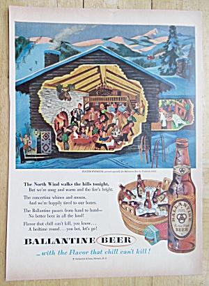 1955 Ballantine Beer Winter Weekend By Frederick Siebel (Image1)