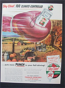 1953 Sky Chief Gasoline With Boxing Glove