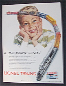 This Fine Ad Is In Near Mint Condition And Measures Approx 9 1 2 X 12 Suitable For Framing Depicts A Boy Thinking About Train