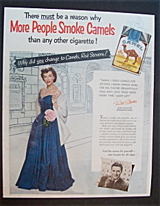 1953 Camel Cigarettes With Rise Stevens