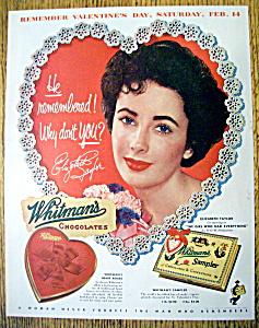 1953 Whitman's Sampler with Elizabeth Taylor (Image1)