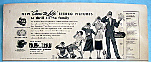 Vintage Ad: 1953 View Master (Image1)