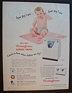 1952  Westinghouse  Clothes  Dryer (Image1)