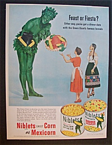 1952 Green Giant Niblets