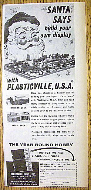 1965 Plasticville U. S. A. with Santa Claus (Image1)