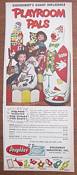 1952 Doughboy's Playroom Pals w/ 2 Little Boys Playing (Image1)