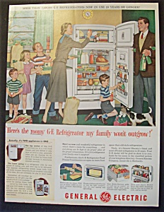 1952  General  Electric  Refrigerator (Image1)