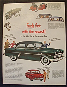 1952 Ford Automobiles with Picture Of A Ford (Image1)