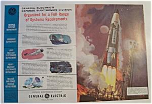 Vintage Ad: 1959 General Electric Defense Electronics (Image1)