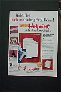1955 Hotpoint Washer with Harriet Nelson (Image1)