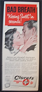 1952  Clorets Chlorophyll  Gum (Image1)